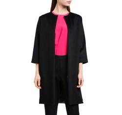Płaszcz damski, czarny, 84-9W-100-1-L, Zdjęcie 1