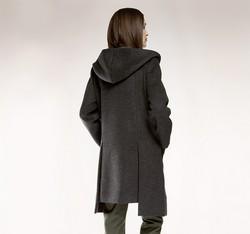 Women's coat, grey, 85-9W-100-8-2X, Photo 1