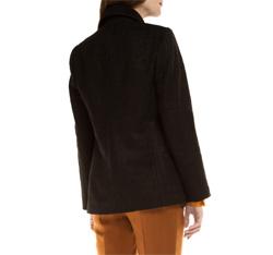 Płaszcz damski, czarny, 85-9W-104-1-L, Zdjęcie 1