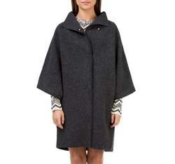 Płaszcz damski, czarny, 83-9W-100-1-S_M, Zdjęcie 1