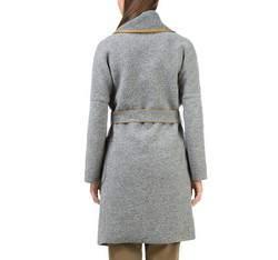 Płaszcz damski, szary, 83-9W-103-8-XL, Zdjęcie 1