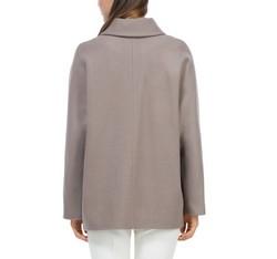 Women's coat, dark beige, 84-9W-102-8-XL, Photo 1