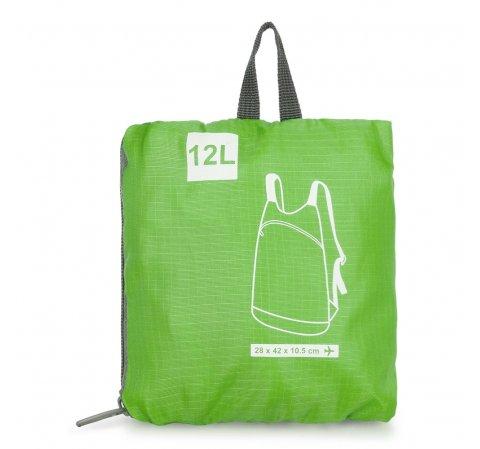Plecak, zielony, 56-3S-001-7G, Zdjęcie 1