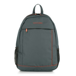 Backpack, grey-orange, 56-3S-467-01, Photo 1