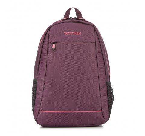 Plecak, burgund, 56-3S-467-35, Zdjęcie 1