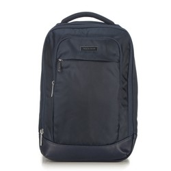 Multifunctional travel backpack, navy blue, 56-3S-706-90, Photo 1