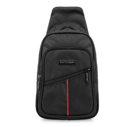 Plecak, czarny, 85-3P-105-1, Zdjęcie 1