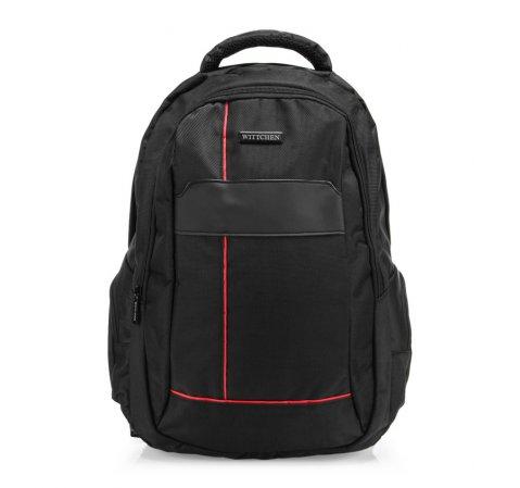 Plecak, czarny, 85-3P-106-1, Zdjęcie 1