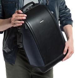 Plecak, granatowy, 86-3U-213-7, Zdjęcie 1