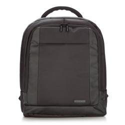 Plecak, czarny, 87-3P-108-1, Zdjęcie 1