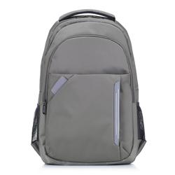 Plecak, szary, 88-3P-102-O, Zdjęcie 1