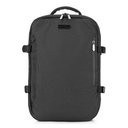 Plecak, czarny, 88-3P-105-1, Zdjęcie 1