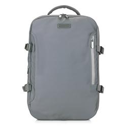 Plecak, szary, 88-3P-105-8, Zdjęcie 1