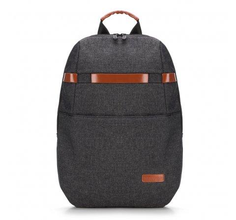 Plecak, szaro - brązowy, 89-3P-110-8, Zdjęcie 1