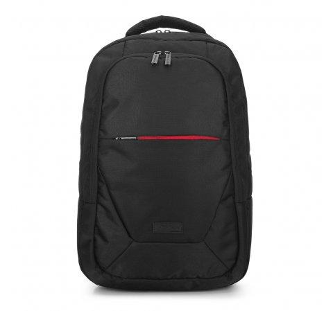 Męski plecak na laptopa 15,6″, czarny, 91-3P-709-12, Zdjęcie 1