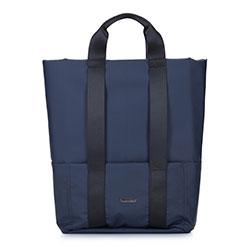 """Męski plecak na laptopa 15,6"""" nowoczesny, granatowy, 92-3P-907-7, Zdjęcie 1"""
