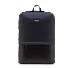 Plecak, granatowy, 84-3U-207-7, Zdjęcie 1