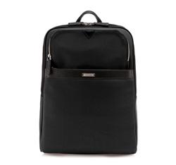 Plecak, czarny, 84-3U-209-1, Zdjęcie 1