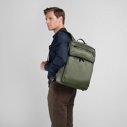 Backpack, khaki green, 89-3P-103-O, Photo 1