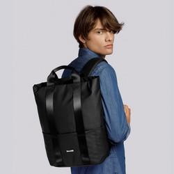 """Męski plecak na laptopa 15,6"""" nowoczesny, czarny, 92-3P-907-1, Zdjęcie 1"""