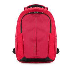 Plecak, czerwony, 56-3S-102-30, Zdjęcie 1