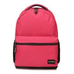 Plecak basic duży, różowy, 56-3S-927-34, Zdjęcie 1