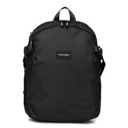 Plecak basic mały, czarny, 56-3S-937-10, Zdjęcie 1