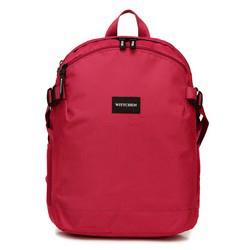 Plecak basic mały, czerwony, 56-3S-937-35, Zdjęcie 1