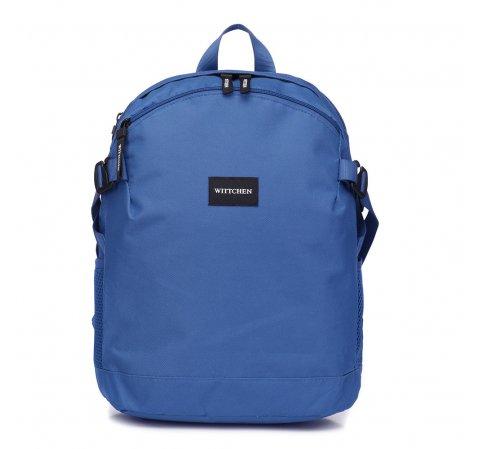 Plecak basic mały, niebieski, 56-3S-937-95, Zdjęcie 1