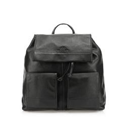 Plecak damski, czarny, 85-4E-516-1, Zdjęcie 1