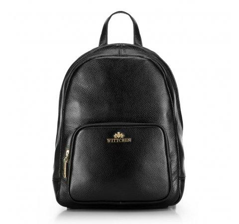 Plecak damski, czarny, 86-4E-369-1, Zdjęcie 1