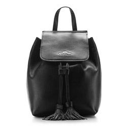 Plecak damski, czarny, 86-4E-437-1, Zdjęcie 1