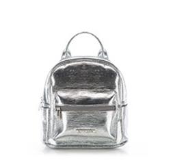 Plecak damski, srebrny, 86-4Y-403-S, Zdjęcie 1