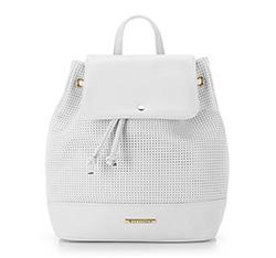 Plecak damski, biały, 86-4Y-405-0, Zdjęcie 1