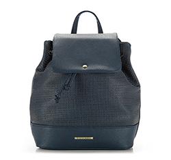 Plecak damski, granatowy, 86-4Y-405-7, Zdjęcie 1