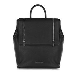 Plecak damski, czarny, 86-4Y-407-1, Zdjęcie 1