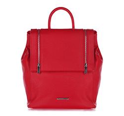 Plecak damski, czerwony, 86-4Y-407-3, Zdjęcie 1