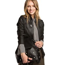 Plecak damski, czarny, 86-4Y-427-1, Zdjęcie 1