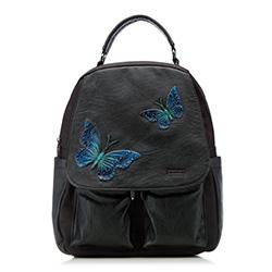 Plecak damski, czarny, 86-4Y-500-1, Zdjęcie 1