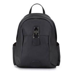 Plecak damski, czarny, 86-4Y-507-1, Zdjęcie 1