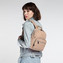 Plecak damski, ciemny  beż, 86-4Y-906-9, Zdjęcie 1