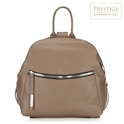 Plecak damski, beżowy, 87-4E-016-9, Zdjęcie 1