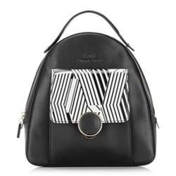 Plecak damski, czarny, 87-4E-230-1, Zdjęcie 1