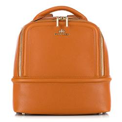 Plecak damski, jasny brąz, 87-4E-420-5, Zdjęcie 1