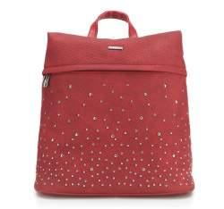 Plecak damski, czerwony, 87-4Y-351-3, Zdjęcie 1