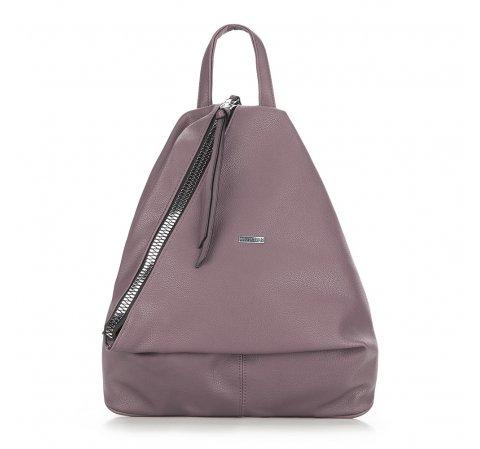 Plecak damski, zgaszony fiolet, 87-4Y-352-V, Zdjęcie 1