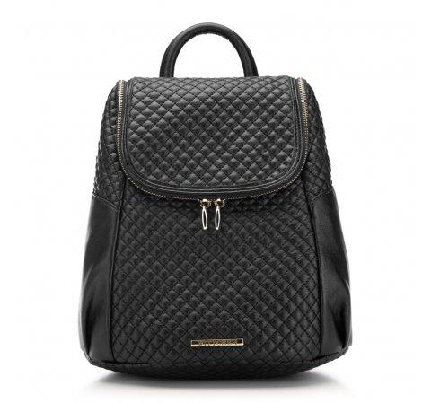 Plecak damski, czarny, 87-4Y-414-1, Zdjęcie 1