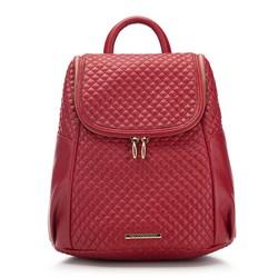 Plecak damski, czerwony, 87-4Y-414-3, Zdjęcie 1