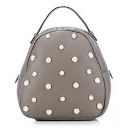 Plecak damski, beżowy, 87-4Y-417-9, Zdjęcie 1
