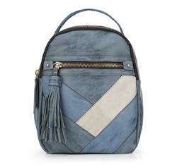 Plecak damski, niebieski, 87-4Y-712-7, Zdjęcie 1